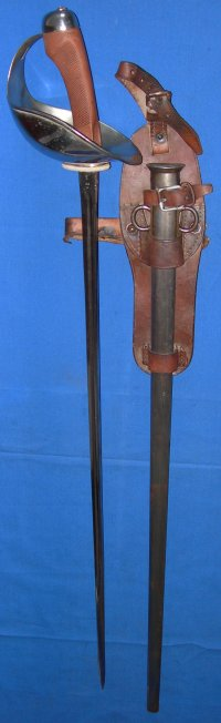 1908P WW1 British 1st Life Guards Cavalry Trooper's Sword
