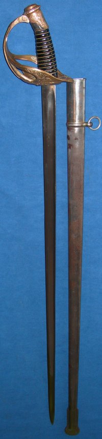 French WW1 1896 model Cavalry Officer's Sword