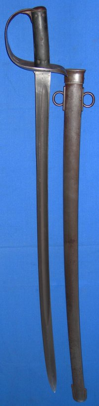 1890 Pattern British Light Cavalry Trooper's Sword, 4th Hussars, Boer War