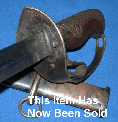 1889 Model WW2 Imperial Japanese Army NCO's Sword