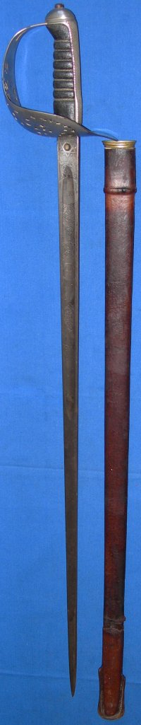 1897P Edward VII British Infantry Officer's Sword, Plymouth Cutler