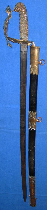Mid to Late Victorian British Royal Navy Officer's Sword