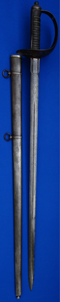 Victorian Kings Own Scottish Borderers Field Officer's Wilkinson Sword