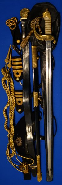 WW2 British Royal Navy Officer's Sword