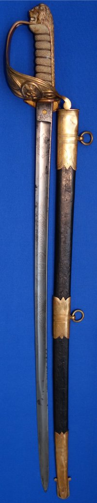 Victorian British Royal Navy Officer's Wilkinson Sword