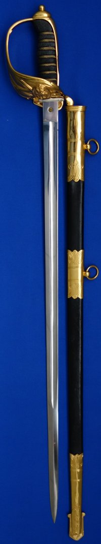 British Royal Navy Master at Arms Sword