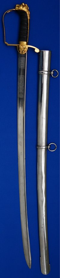 King William IV Coronation Sword for Yeomanry Cavalry Officer