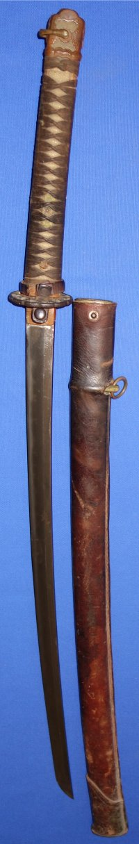 Early WW2 Imperial Japanese Army Officer's Katana