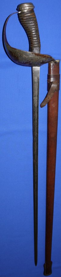 WW1 British 6th Dragoon Guards (Carabiniers) Identified Cavalry Officer's Sword