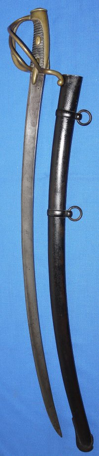 Napoleonic Wars French An XI Light Cavalry Trooper's Sabre, British capture