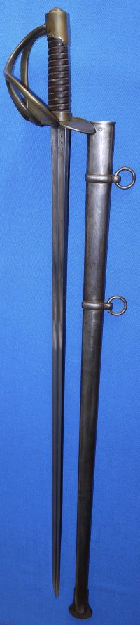 Waterloo Battle Trophy French Napoleonic Heavy Cavalry Sword