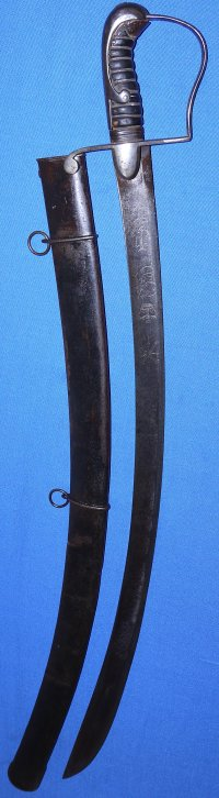 1796 Pattern British Light Cavalry Officer's Campaign Sword
