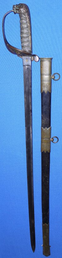 Victorian British Royal Naval Reserve Officer's Sword