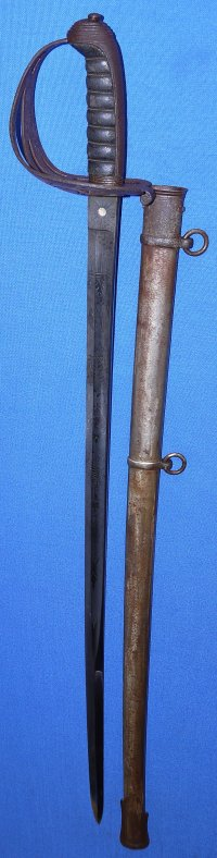 1827P Victorian British Rifle Regiment Officer's Sword, Coat of Arms, Initials