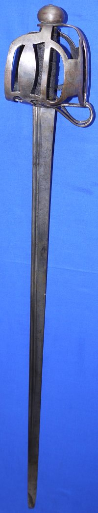 Circa 1745 British Loyal Scottish Highland Infantry Officer's Backsword