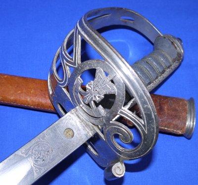 Victorian British 1827P Rifle Regiment Officer's Sword