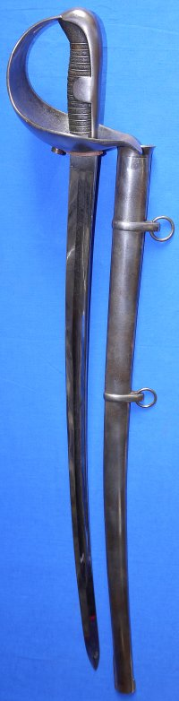 1860M Spanish Light Cavalry Trooper's Sabre / Sword, dated 1870