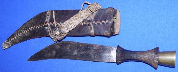 19C / 20C Somali Gile Short Sword, Sold