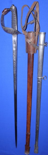 Victorian Boer War The Duke of Wellington's Regt, Capt. N B Bainbridge's Sword