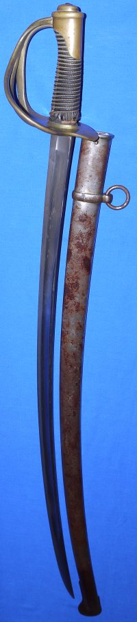French Model 1822 (post 1884) Light Cavalry Trooper's Sword