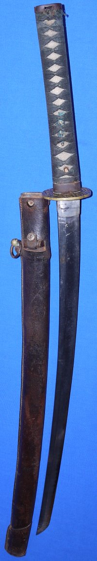 WW2 Japanese Army Officer's Katana for Military Use