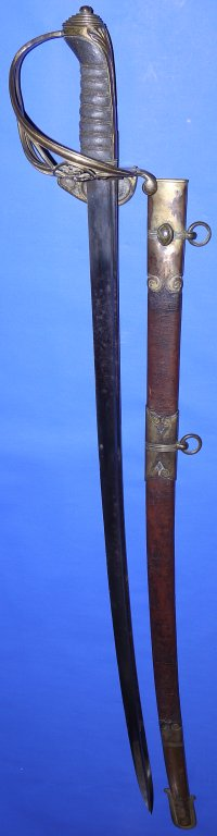 1822P Georgian (George IV) British Infantry Officer's Sword