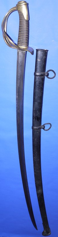 French 1822 Model Light Cavalry Trooper's Sabre, Chatellerault May 1873
