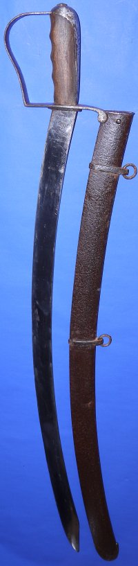 US Nathan Starr Model 1812-1813 Contract Cavalry Saber
