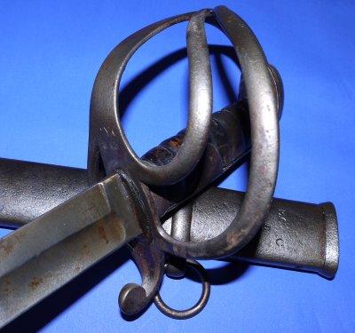 1821 Pattern East Cornwall Yeomanry Cavalry Trooper's Sword