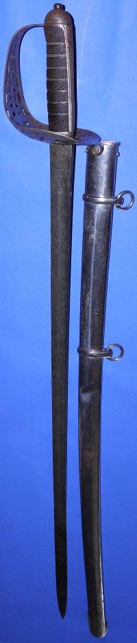 Edwardian 16th Lancers Officers Patent Hilt Wilkinson Sword, Sold