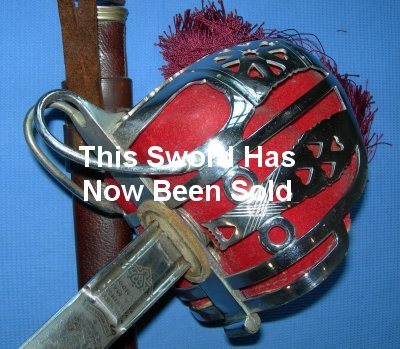 Scottish Basket Hilt Broadsword by Wilkinson