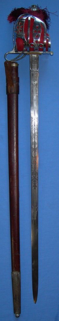 Scottish Basket Hilt Sword by Wilkinson