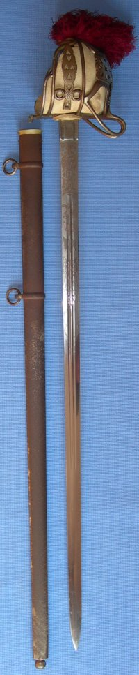 Seaforth Highlanders Ross-Shire Buffs Officers Sword