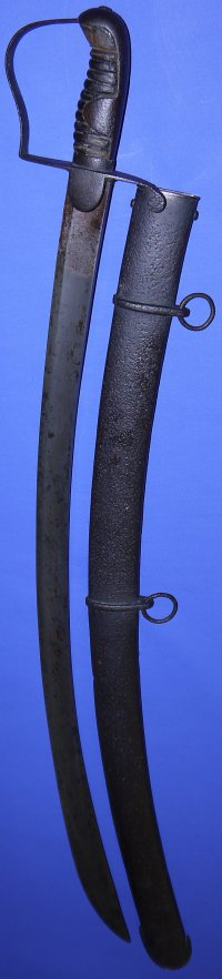 1796P Napoleonic British Light Cavalry Trooper's Sabre by Woolley