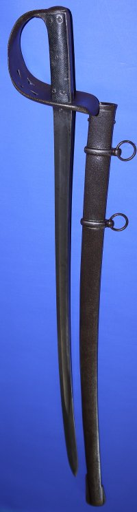 1885P Victorian British Cavalry Trooper's Sword & Scabbard