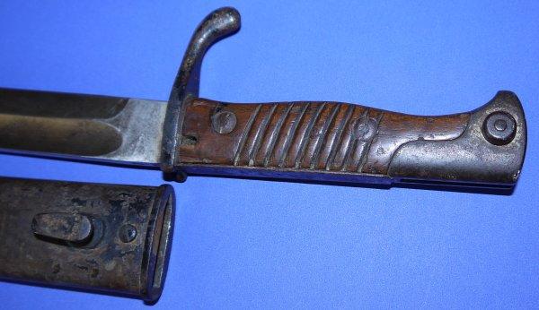 WW1 German M98 M1898/05 Butcher Bayonet