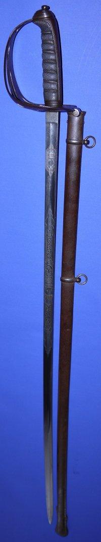 Victorian British London Rifle Brigade Officer's Wilkinson Sword
