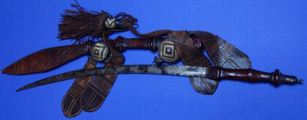 19C / 20C Senegal / Burkina Faso / Ivory Coast Mandingo Sword