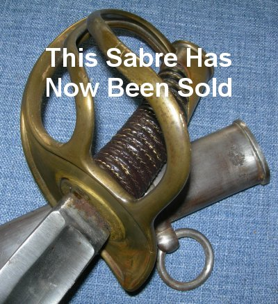 US Civil War Confederate Cavalry Sabre