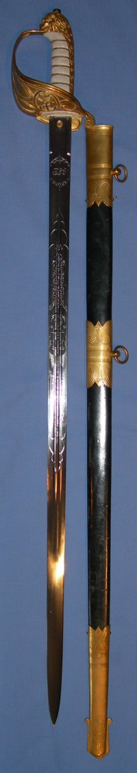 Victorian Wilkinson Claymore British Royal Naval Officer's Sword