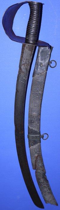 1804-1814 British Privateer (Pirate) / Merchant Officer's Cutlass