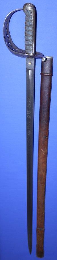 Edwardian Duke of Lancaster's Own Yeomanry Officer's Sword
