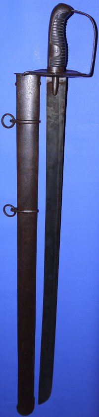 1796P British Heavy Cavalry Trooper's Sword by Gill, VGC