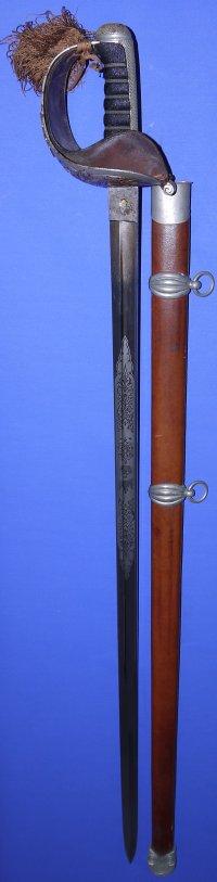 Rare Victorian Scottish Horse Officer's Sword