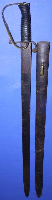 1800's Essex & Suffolk British Customs Officer's Cutlass, Sold