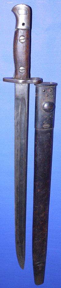 WW1 1907P British Bayonet by Wilkinson Sword