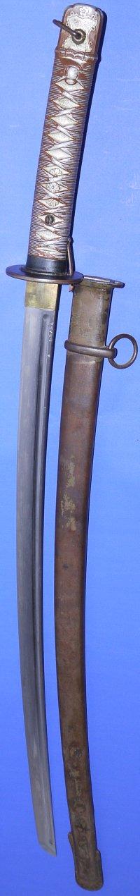 WW2 Model 1935 (type 95) Japanese Army NCO's Shin Gunto