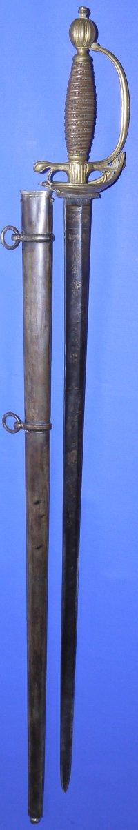 Napoleonic Scottish General's Sword