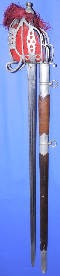 Victorian Scottish Basket Hilted Broadsword by Thurkle
