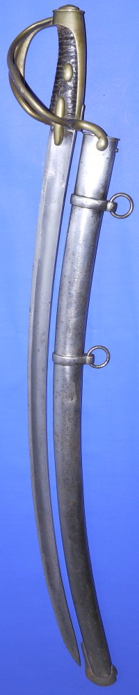 Waterloo era French An XI Light Cavalry Trooper's Saber / Sabre, Sold